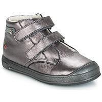 Topánky Dievčatá Polokozačky GBB RACHEL Fialová