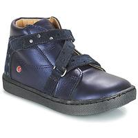 Topánky Dievčatá Polokozačky GBB RAYMONDE Vte / Námornícka modrá