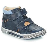 Topánky Chlapci Polokozačky GBB ROBERT Modrá