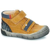 Topánky Chlapci Polokozačky GBB REMI Ťavia hnedá