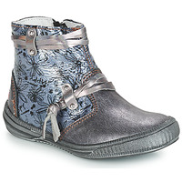 Topánky Dievčatá Polokozačky GBB REVA Girs / Modrá