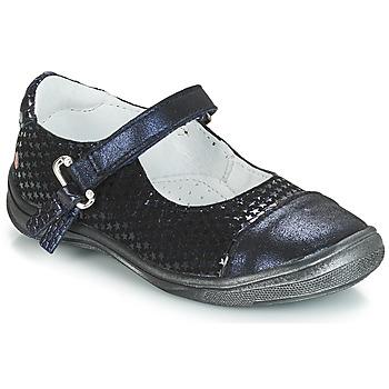Topánky Dievčatá Balerínky a babies GBB RIKA Modrá