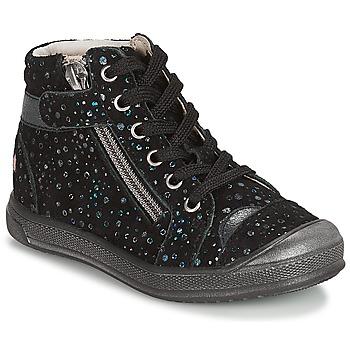 Topánky Dievčatá Polokozačky GBB DESTINY Čierna