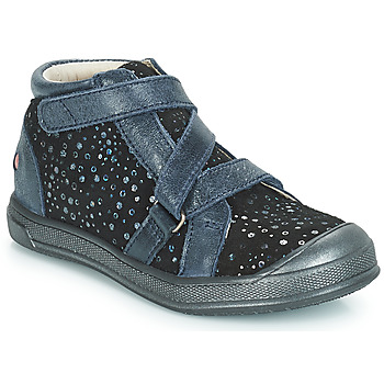 Topánky Dievčatá Členkové tenisky GBB NADEGE Modrá / Čierna