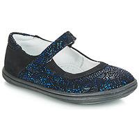 Topánky Dievčatá Balerínky a babies GBB PLACIDA Námornícka modrá-čierna / Cuba