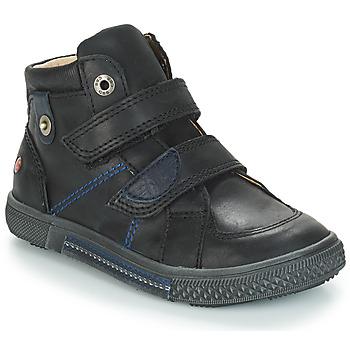 Topánky Chlapci Polokozačky GBB RANDALL Čierna