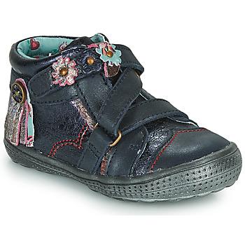 Topánky Polokozačky Catimini ROQUETTE Námornícka modrá