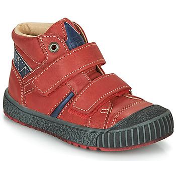 Topánky Chlapci Polokozačky Catimini RAIFORT Červená