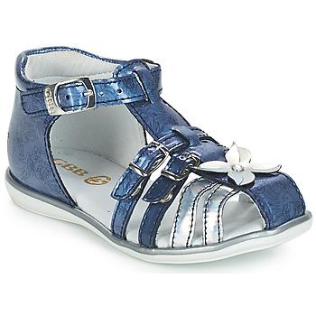 Topánky Dievčatá Sandále GBB SHANICE Modrá