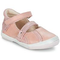 Topánky Dievčatá Sandále GBB SYBILLE Ružová