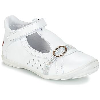 Topánky Dievčatá Balerínky a babies GBB SALOME Biela
