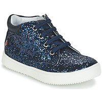 Topánky Dievčatá Polokozačky GBB SACHA Námornícka modrá