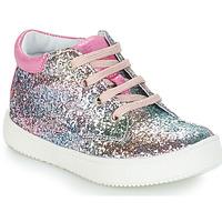 Topánky Dievčatá Polokozačky GBB SACHA Ružová / Viacfarebná