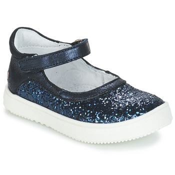 Topánky Dievčatá Polokozačky GBB SAKURA Námornícka modrá