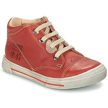 Topánky Chlapci Polokozačky GBB SYLVAIN Červená