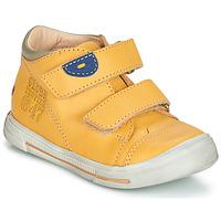 Topánky Chlapci Polokozačky GBB SAMY Žltá