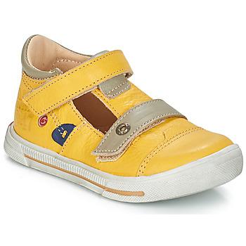 Topánky Dievčatá Balerínky a babies GBB STEVE Žltá
