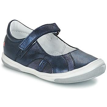 Topánky Dievčatá Balerínky a babies GBB SYRINE Modrá