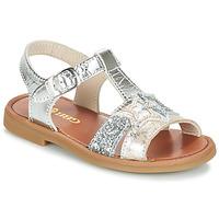 Topánky Dievčatá Sandále GBB SHANTI Strieborná