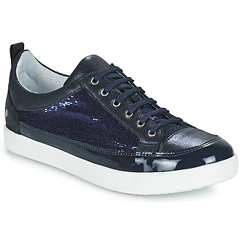 Topánky Dievčatá Čižmy do mesta GBB ISIDORA Vts / Námornícka modrá