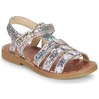 Topánky Dievčatá Sandále GBB KATAGAMI Ružová / Viacfarebná