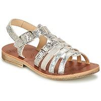 Topánky Dievčatá Sandále GBB BANGKOK Strieborná