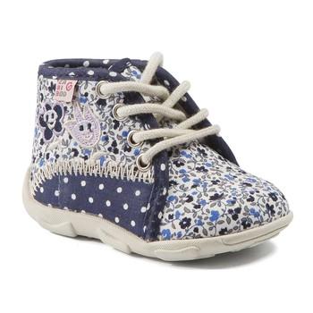 Topánky Dievčatá Papuče GBB PAT Námornícka modrá