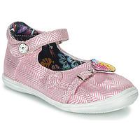 Topánky Dievčatá Sandále Catimini SITELLE Ružová / Strieborná