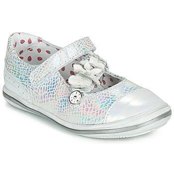 Topánky Dievčatá Balerínky a babies Catimini STROPHAIRE Strieborná