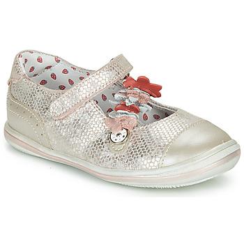 Topánky Dievčatá Balerínky a babies Catimini STROPHAIRE Ružová