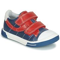 Topánky Chlapci Nízke tenisky Catimini SORBIER Modrá / Červená