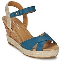 Topánky Ženy Sandále Spot on IDIALE Námornícka modrá
