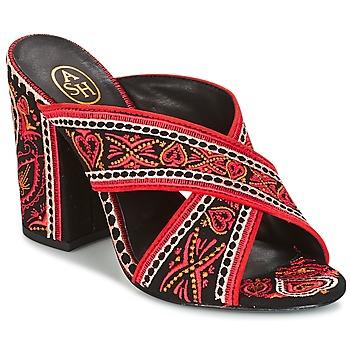 Topánky Ženy Sandále Ash LOLA Čierna / Červená