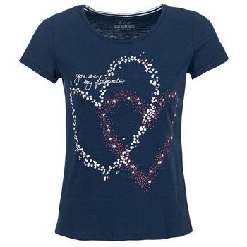 Oblečenie Ženy Tričká s krátkym rukávom Esprit WEJA Námornícka modrá