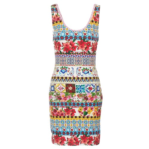 Oblečenie Ženy Krátke šaty Desigual OCONDE Viacfarebná