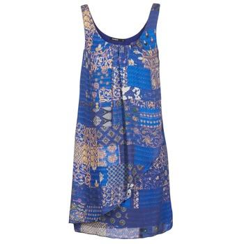 Oblečenie Ženy Krátke šaty Desigual OFFOELA Modrá