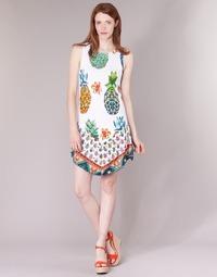 Oblečenie Ženy Krátke šaty Desigual HOQLER Biela