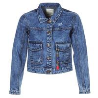 Oblečenie Ženy Džínsové bundy Kaporal BUCHE Modrá