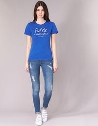 Oblečenie Ženy Džínsy Slim Kaporal LOKA Modrá / Medium