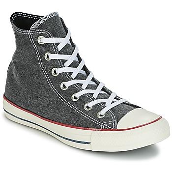 Topánky Členkové tenisky Converse Chuck Taylor All Star Hi Stone Wash Šedá