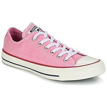 Topánky Ženy Nízke tenisky Converse Chuck Taylor All Star Ox Stone Wash Ružová