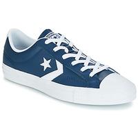 Topánky Muži Nízke tenisky Converse Star Player Ox Leather Essentials Námornícka modrá