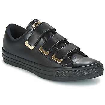 Topánky Ženy Nízke tenisky Converse Chuck Taylor All Star 3V Ox SL + Hardware Čierna / Zlatá