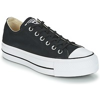 Topánky Ženy Nízke tenisky Converse Chuck Taylor All Star Lift Clean Ox Core Canvas Čierna