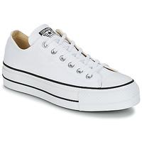 Topánky Ženy Nízke tenisky Converse Chuck Taylor All Star Lift Clean Ox Core Canvas Biela