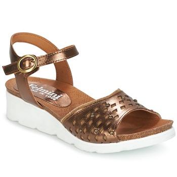 Topánky Ženy Sandále Felmini BRONZINO Bronzová