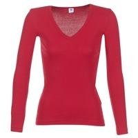 Oblečenie Ženy Tričká s dlhým rukávom Petit Bateau  Červená