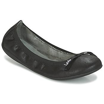 Topánky Ženy Balerínky a babies LPB Shoes ELLA VELOUR Čierna