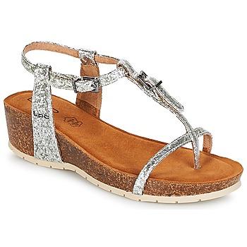 Topánky Ženy Sandále LPB Shoes KISS Strieborná