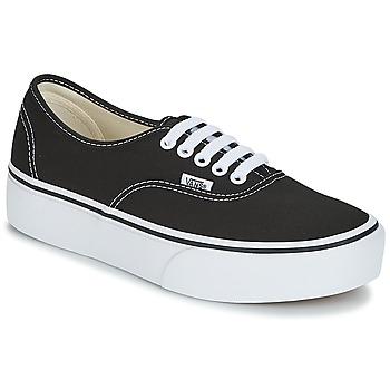 Topánky Ženy Nízke tenisky Vans AUTHENTIC Čierna